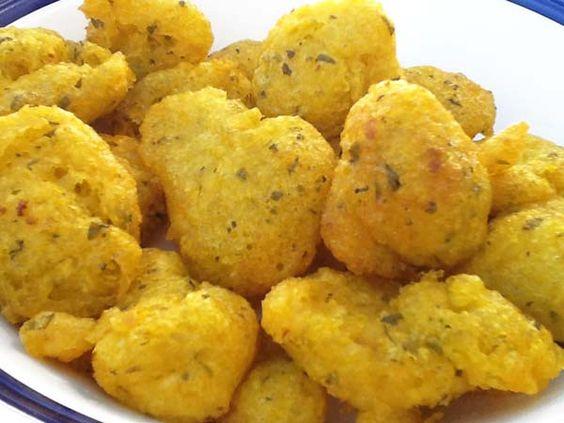 Buñuelos de bacalao -Recetas fáciles, cocina andaluza y del mundo. » Divina Cocina