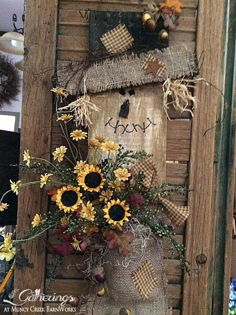 """Classes & Events: August 2014 - """"Charming Chester"""" Scarecrow   Gatherings at Muncy Creek Barn Works"""
