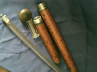 Malacca Walking Cane With Drinking Compartment Circa 1850 39 S