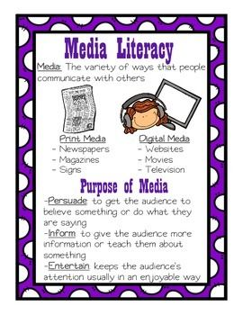 media literacy 3 essay From media literacy to multimedia essay ‑preliminary case study on ulmer's mystory genre  the basic starting point of this essay is to ask: what is audiovisual thinking.