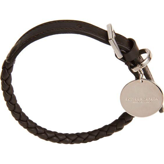[Bottega Veneta] 'Small' Woven Dog Collar - $310
