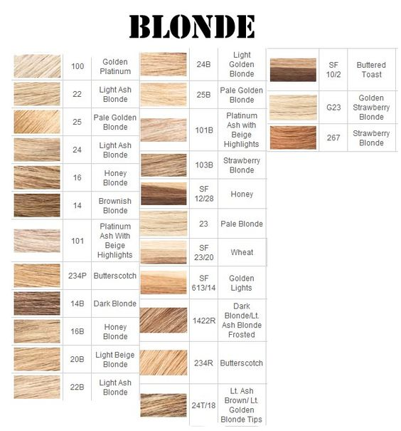 Cheveux Blonds Blondes And Nuances De Cheveux Blonds On