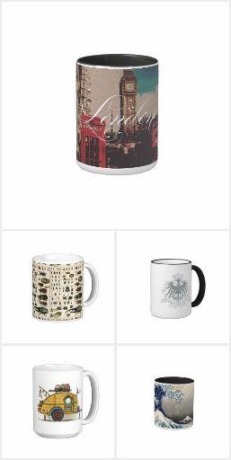 Vintage Style Mugs