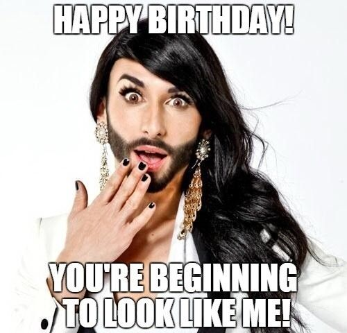 Image Result For Funny Guy Happy Birthday Images Funny Happy Birthday Meme Happy Birthday Funny Funny Drinking Memes