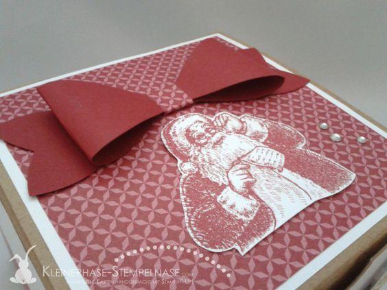 Stampin Up Weihnachten Ornament Keepsakes Santa Geschenkbox Alphabet 03
