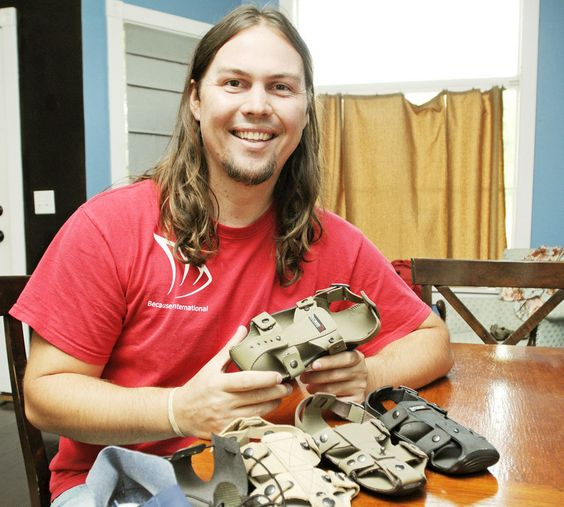For Underprivileged Kids, Man Invents A Shoe That Grows Five Sizes
