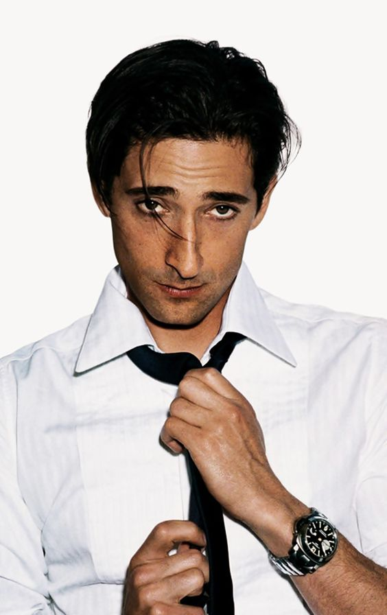 I will always love his nose! Adrien Brody