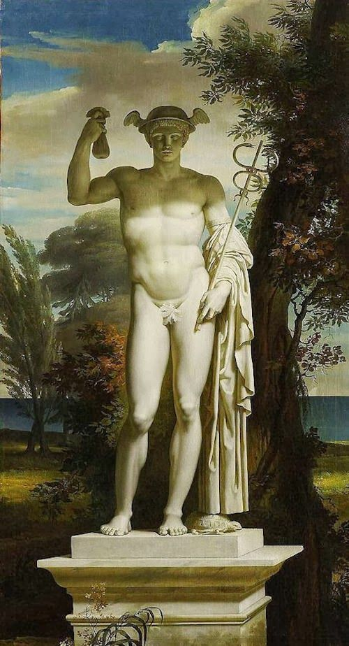 Charles Meynier (November 25, 1763 or 8, Paris - September 6, 1832, Paris), a French painter.Mercury