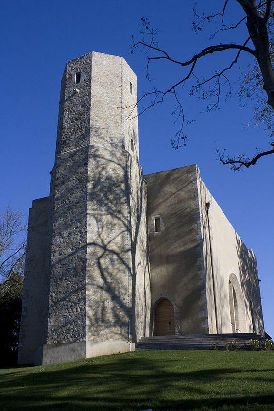 Ciboure (Pyrénées Atlantiques) - Tour de Bourdagain et ancienne église - XVIème
