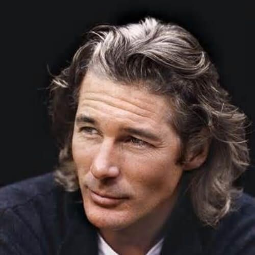 richard gere long hairstyles for men | visuals in 2019 ...