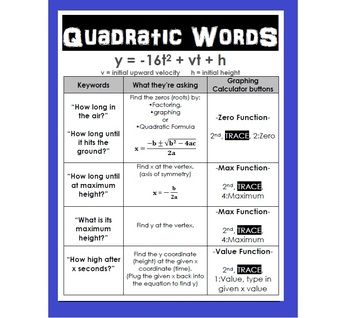 quadratic word problems worksheets with answers word problems poster and student on. Black Bedroom Furniture Sets. Home Design Ideas