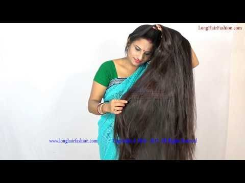 Silky Shiny Homely Long Hair Wife Youtube Long Hair Video Hair Videos Loose Hairstyles