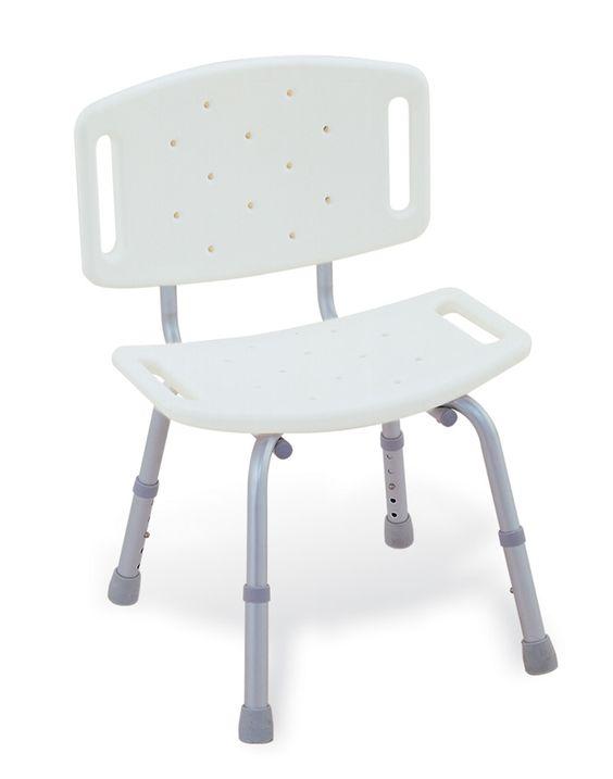 Κάθισμα Μπάνιου - Ντους με Πλάτη | Ιατρικά Ορθοπεδικά Είδη