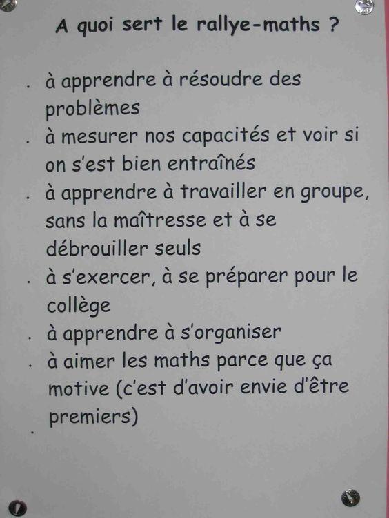 Rallye mathématique de l'Allier