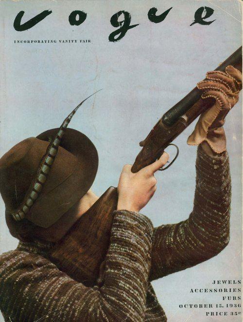 Tomboy Style: SCENE | October '36 Vogue