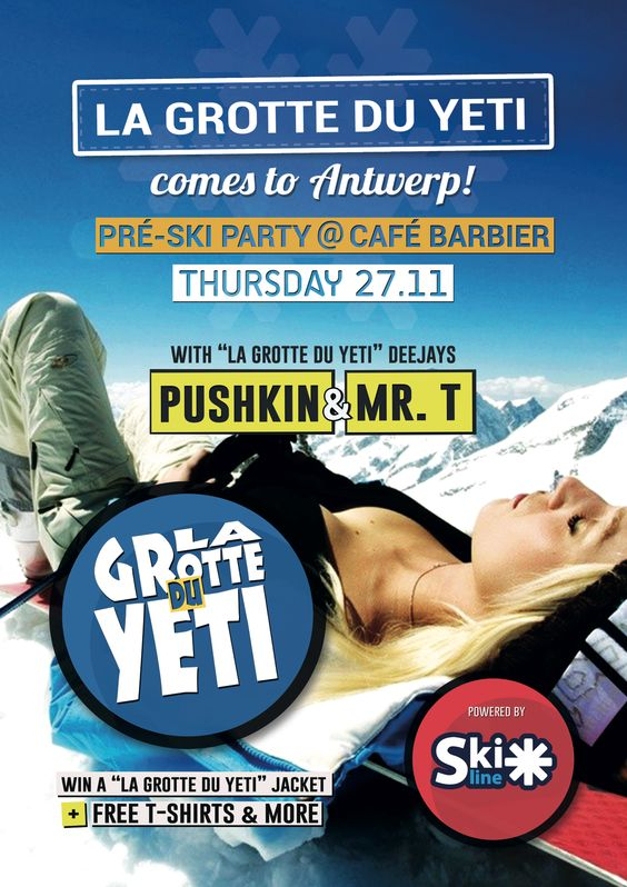 Poster for Preski Party Barbier