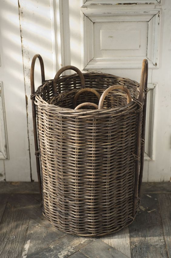 Baskets, Yoga mats and Storage on Pinterest