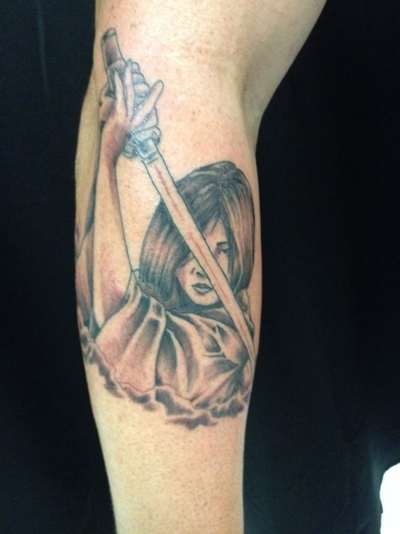 Gene's warrior geisha