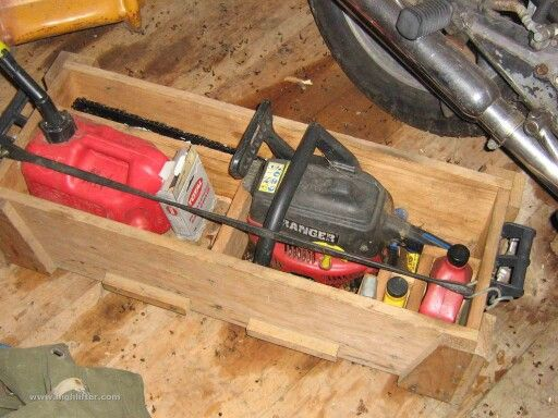 Chainsaw Box Storage And Transport Forestry Pinterest