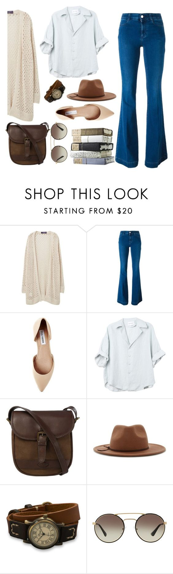 """""""Untitled #84"""" by emi201295 ❤ liked on Polyvore featuring Violeta by Mango, STELLA McCARTNEY, Steve Madden, DUBARRY, Forever 21, BillyTheTree and Prada"""