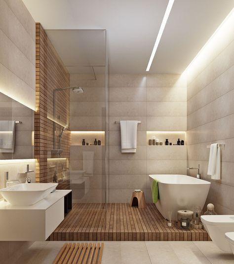 salle de bains bois eco