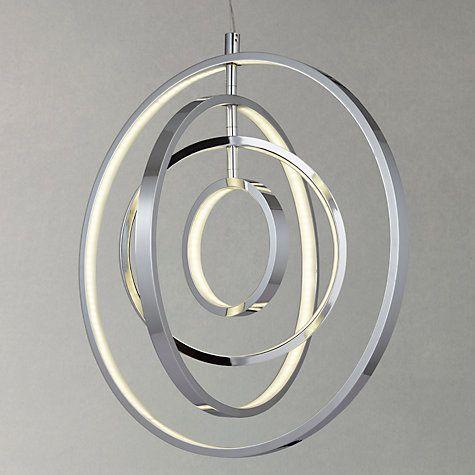 Buy John Lewis Cosmic LED Ring Pendant Ceiling Light Online at johnlewis.com