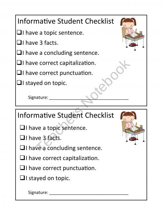 informational report topics In this lesson, you will learn how to conclude an informational text by asking,  how will readers remember this information.
