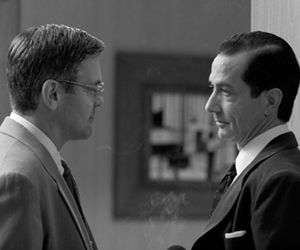 Good Night and Good Luck--George Clooney, David Straithairn.  What a good movie!