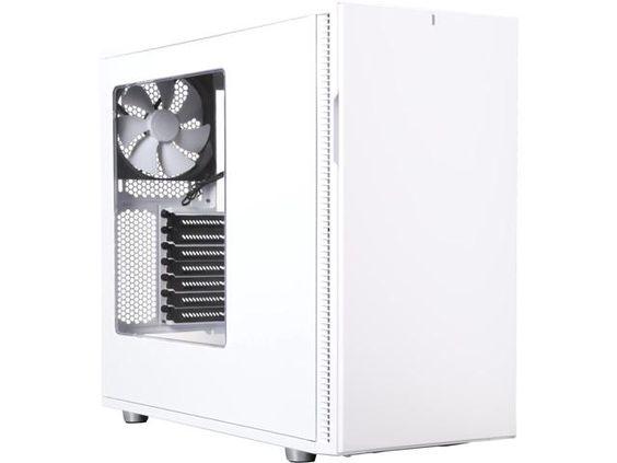 Newegg.Com - Fractal Design Define R5 White Window Silent ATX Midtower Computer Case
