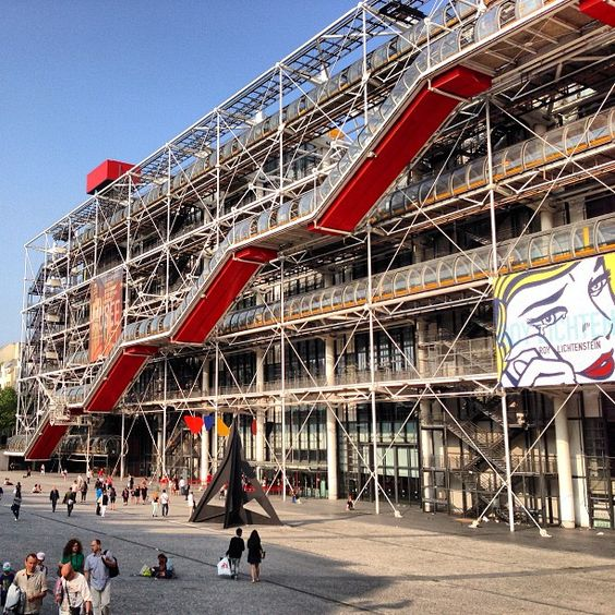 centre pompidou mus 233 e national d moderne in 206 le de it houses the
