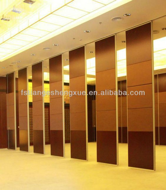 Sliding soundproof wall divider panels | Open House learning ...