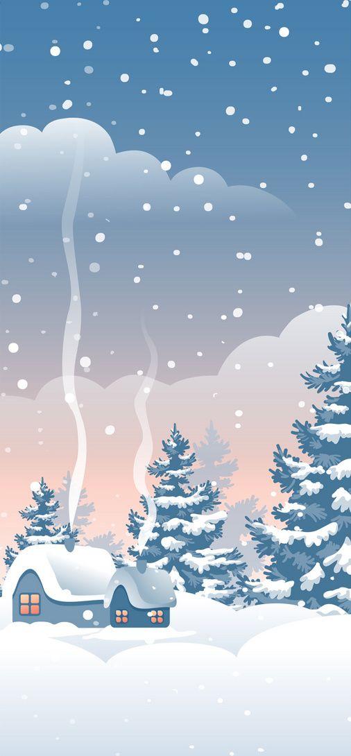 Winter Mobile Wallpaper Duvar Kagitlari Duvar