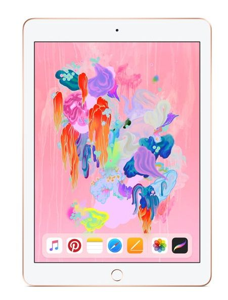 Apple Ipad 6th Generation 2018 9 7 Inch 128gb Wifi Gold Ad Generation Ad Apple Ipad Boho Chic Style Outfits Laptop Edgy Fashion Outfits