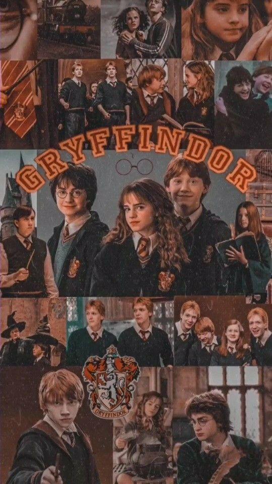 Gryffindor Collage Wallpaper Harry Potter Wallpaper Harry Potter Poster Harry Potter Aesthetic
