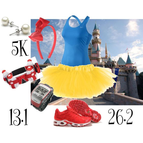 Snow White-Run Disney. Too bad I didn't see this before and it was snowing for our Disney half marathon!