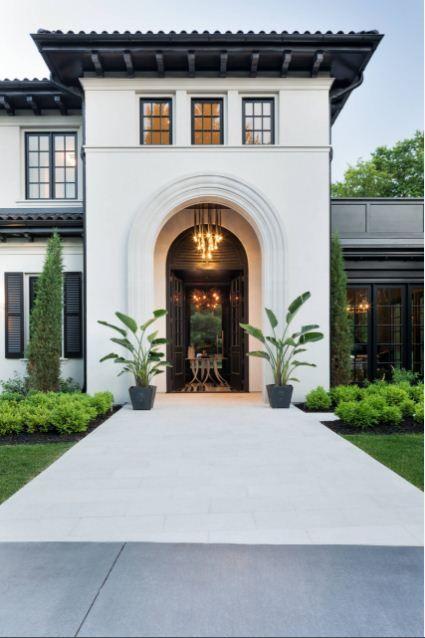 26 Majestic Modern Mediterranean House Design Bahay Ofw Mediterranean House Designs Modern Mediterranean Homes Mediterranean Homes