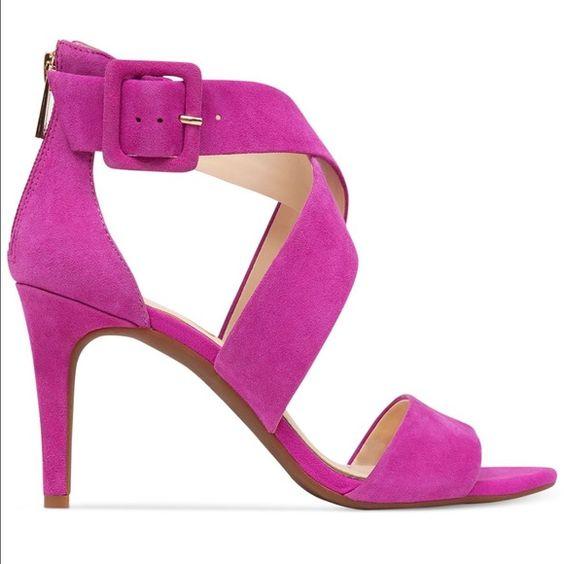 Jessica Simpson Hot Pink Suede Heels NWT | Zapatos de tacón ...