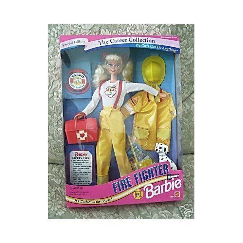 1994 The Career Collection  Fire Fighter Barbie ** Read more  at the image link.