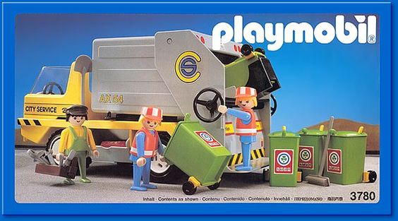 Okay okay I had a thing about dustbin lorries when I was little