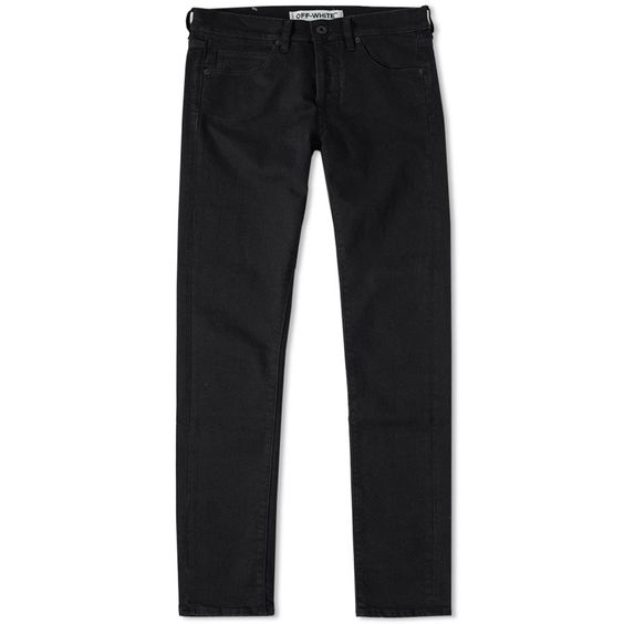 OFF-WHITE Slim Fit Jeans,