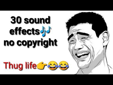 30 Sound Effects Copyright Free No Copyright Background Effects Funny Traps Youtube Funny Effects Youtube Songs Sound Effects