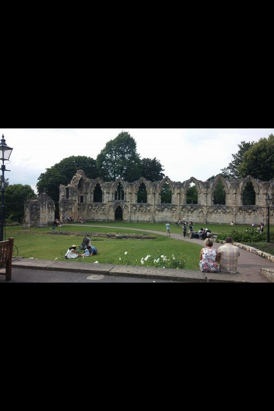 St. Mary's Abbey, York by Bill Hodge
