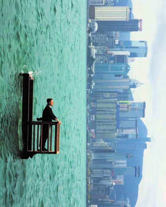 Surreal Photography by Philippe Ramette InspiredOcean