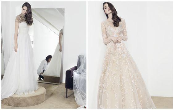 Moderninhos! Escolhemos os Vestidos De Noiva De Celebridades Que Fugiram Do Clássico Para Inspirar As Mais Descoladas. Vem!