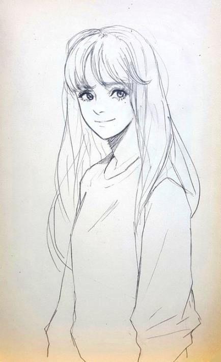 41 Best Ideas Hair Bangs Drawing Hair Drawing In 2020 Anime Drawings Sketches Drawings Art