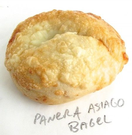 Copy cat Panera asiago cheese bagels - because these are boiled before baking as bagels should be...