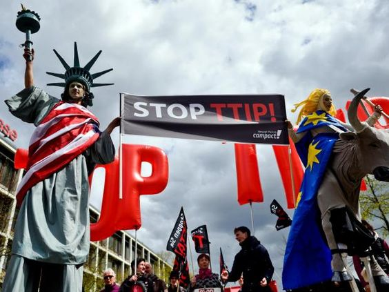 """The free trade negotiations between the European Union and the United States have failed, but """"nobody is really admitting it"""", Germany's Vice-Chancellor Sigmar Gabriel has said. Talks over the so-called Transatlantic Trade and Investment Partnership, also known as TTIP, have made little progress in recent years. August 29 2016 #stoptpp"""