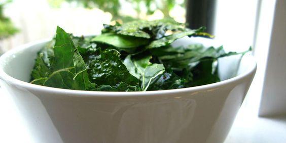 #RECETA Ensalada de chips de kale – Animal Gourmet