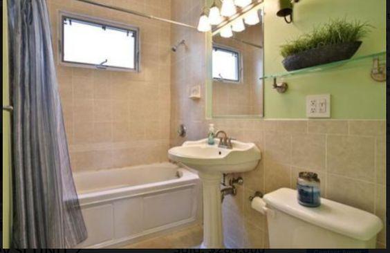 Original Full Bath in house