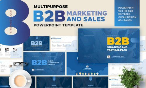 Download B2b Marketing And Sales Powerpoint By Afahmy G4ds Keynote Template Business Powerpoint Presentation Powerpoint